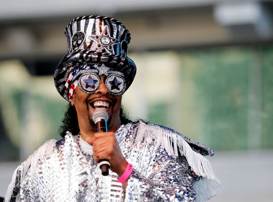 Bootsy Collins kicks off the 2018 Cincinnati Music Festival at Paul Brown Stadium.