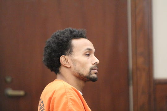 Vincent Bryan Merriweather listens to testimony at a preliminary hearing in General Sessions Court on Jan. 2, 2019. He and two other men are charged with homicide in the Nov. 19 shooting death of Antorius Gallion.