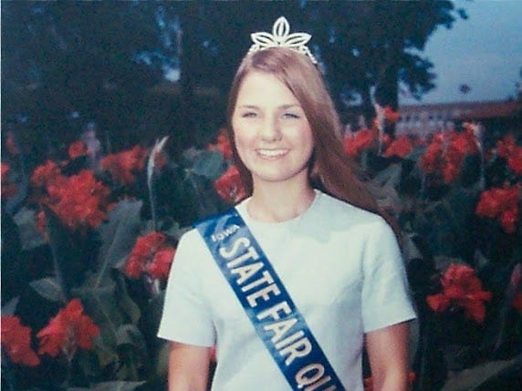 1969 Iowa State Fair Queen: Julie Morlan of Bloomfield in Davis County.