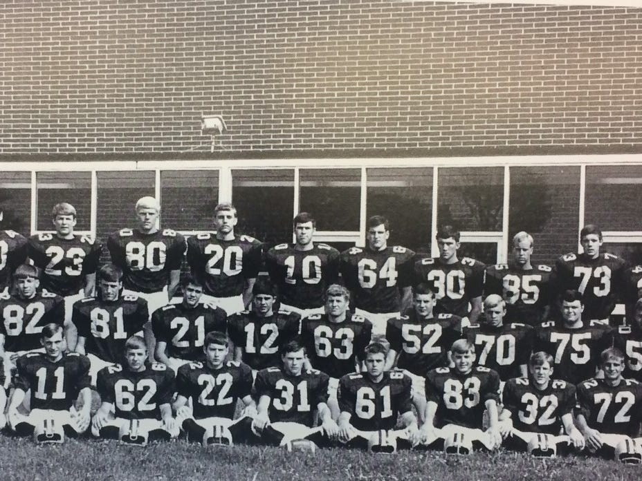 The 1969 Indianola High School football team went 10-0, scoring 446 points and giving up 61.