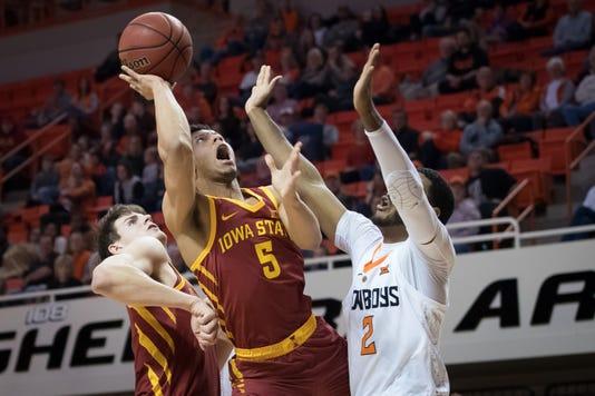 Ncaa Basketball Iowa State At Oklahoma State