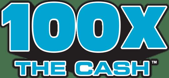 100X The Cash logo