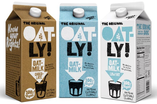 Oat Milk is a hot trend for 2019