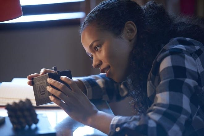 """Taylor Russell in """"Escape Room."""""""