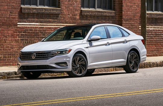 The Volkswagen Jetta compact sedan moves into its seventh generation for 2019, completely redesigned with a new chassis and all-new bodywork.