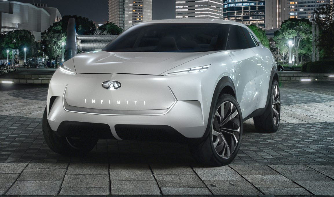 Infiniti QX Inspiration electric concept