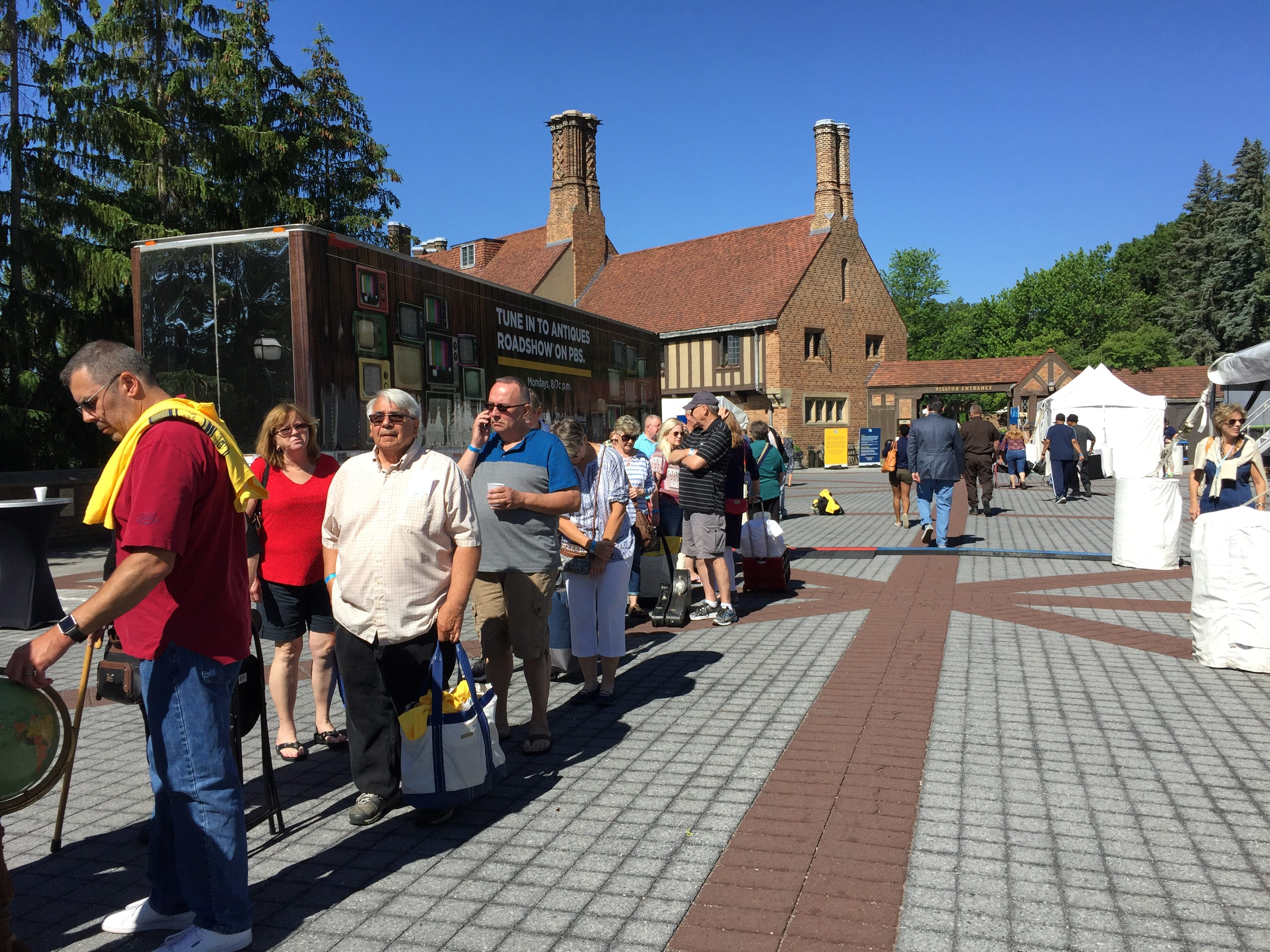 "In the end, nearly 2,900 ticket holders visited Meadow Brook Hall on June 14 to have their collectibles appraised and possible be filmed for ""Antiques Roadshow."""