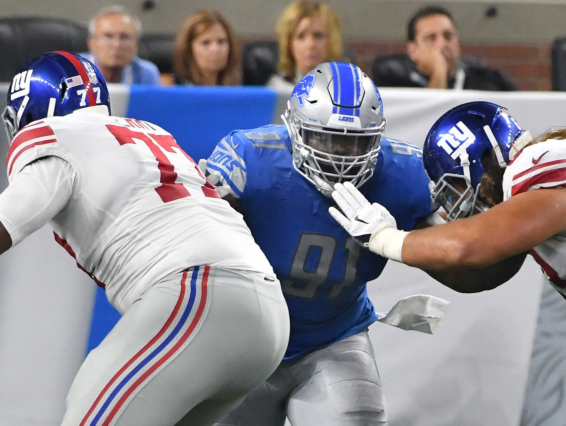 DT A'Shawn Robinson: A healthy scratch to start the season, Robinson returned to the lineup and started playing to the potential that made him a second-round pick three years ago. A dominant run defender, Robinson was a natural fit for Detroit's gap control front. He didn't offer much in the pass rush, but that's not the focal point of his position within this system. Grade: A-