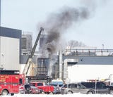 A fire contained to a dust collector at a Mercury Marine building was extinguished by Fond du Lac Fire/Rescue.