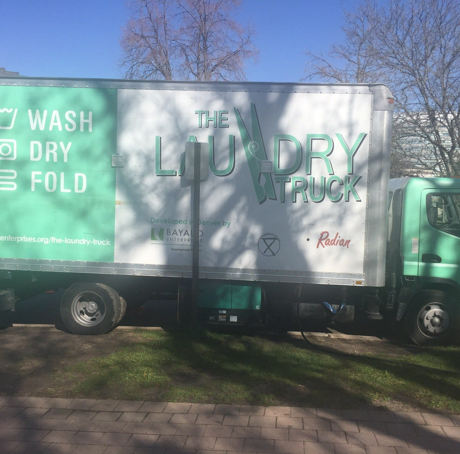 Get a sneak peek at the laundry truck that could soon help the homeless in Fort Collins