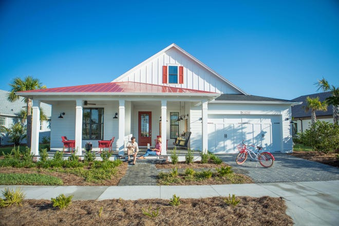 The front-porch lifestyle at Babcock Ranch is proving popular with homebuyers.