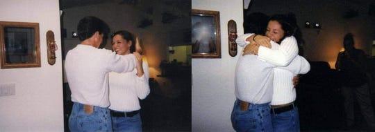 Renee Montesanti and her father Robert 'Sonny' Sciolino