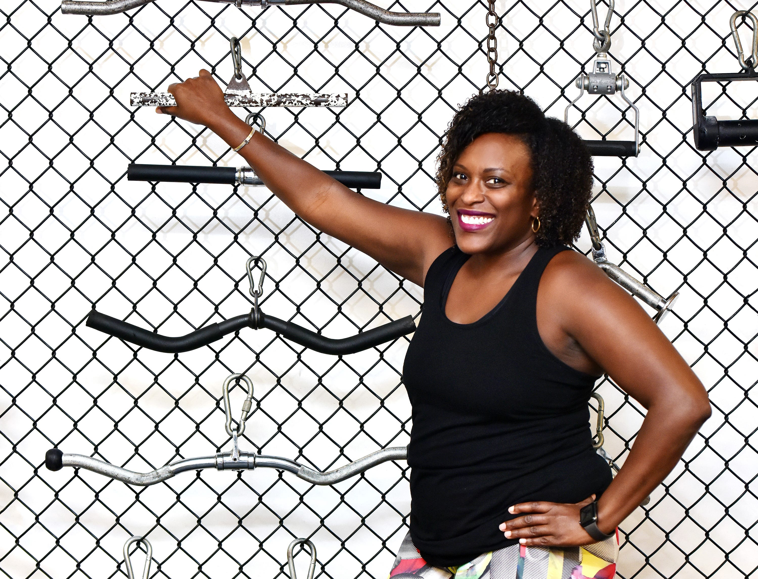 Jil Littlejohn vowed to put her health first and now works out with a trainer at Brit's Brothers Gym in Greenville.