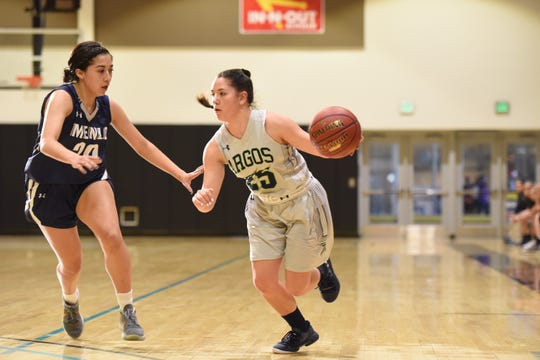 Kerstyn Pimperton has played an increasingly larger role in recent weeks for the University of Providence Lady Argos.