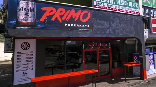Dylan Saad, chef and owner of Primo Pizzakaya, explains the reason behind the creation of the pizzaria-type restaurant he established in Tumon.