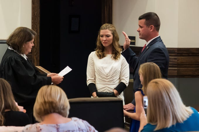 Forrest, Lamar judges investiture ceremonies
