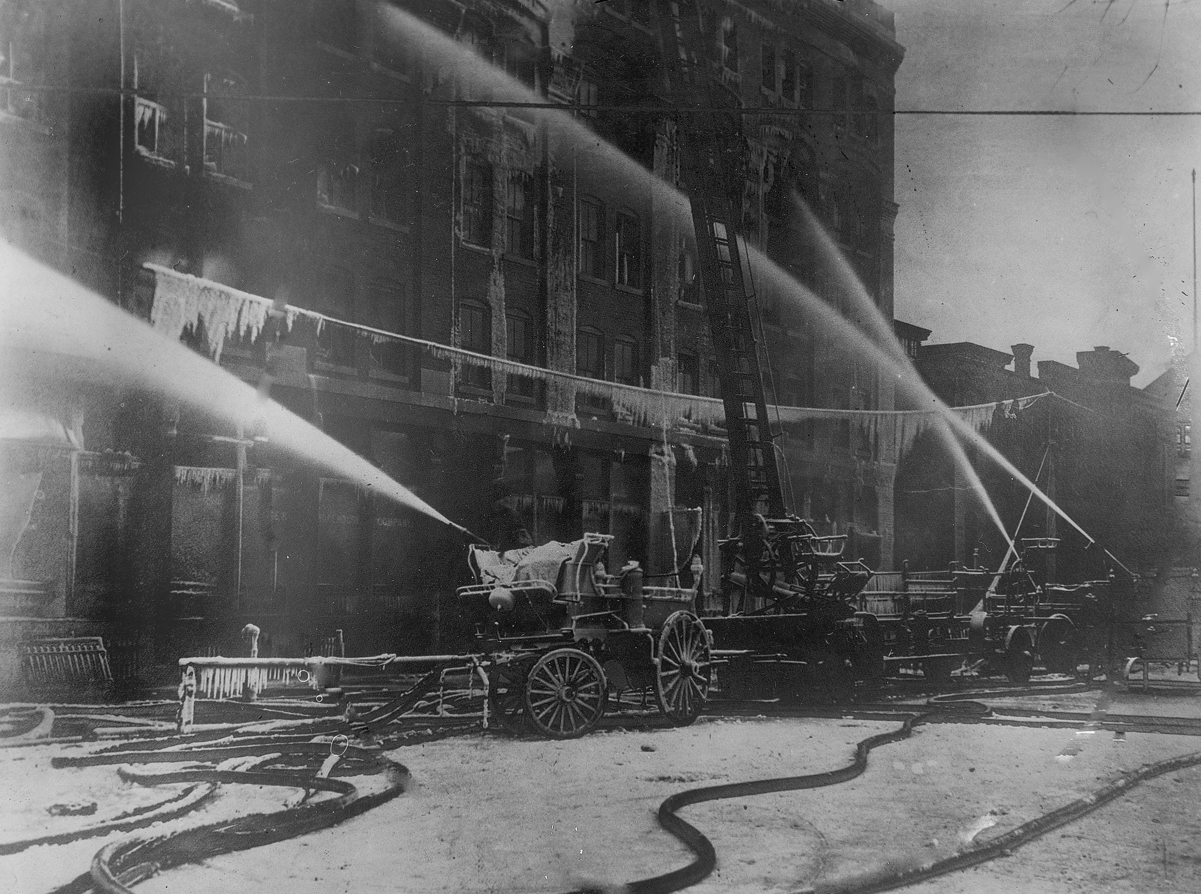 Coburn Store and Warehouse Fire, January 28th, 1908.