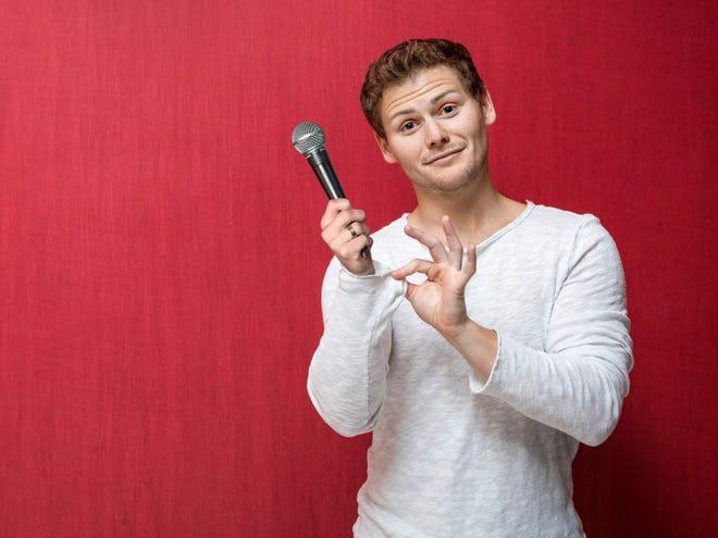 Drew Lynch will perform April 4-6 at Helium Comedy Club, 10 W. Georgia St.