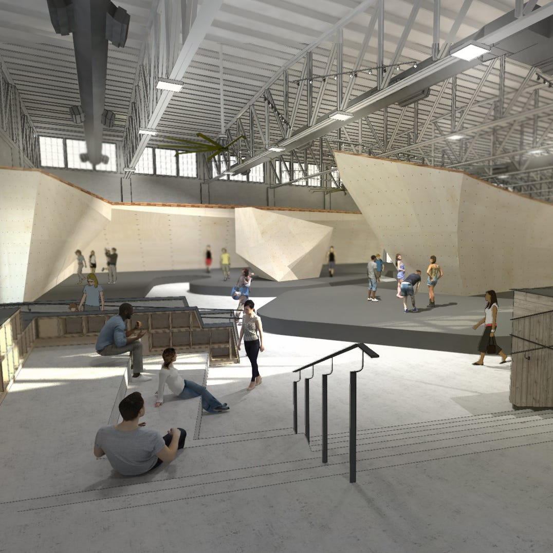A rock-climbing gym for millennials — with beer — will open near Mass Ave.