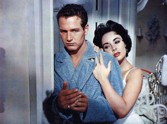 """""""Cat on a Hot Tin Roof,"""" with Paul Newman and Elizabeth Taylor, leads off Newfields' Winter Nights Film Series at the Indianapolis Museum of Art."""
