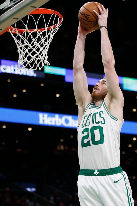 Nba Minnesota Timberwolves At Boston Celtics