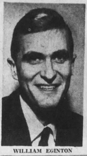 William Eginton was named assistant managing editor on Saturday, Mar. 16, 1963.