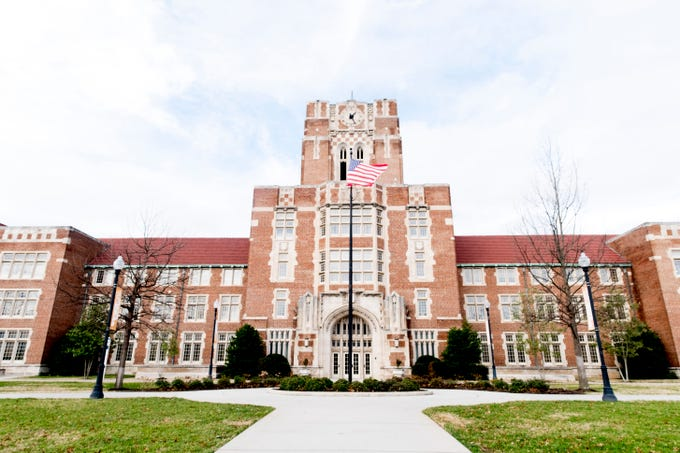 Ayres Hall on the University of Tennessee campus in Knoxville, Tennessee on Tuesday, January 1, 2019.