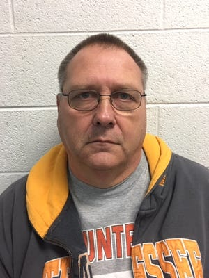 Barry Bishop, Johnson County Board of Education transportation supervisor, was arrested Thursday and charged with one count of theft over $10,000.
