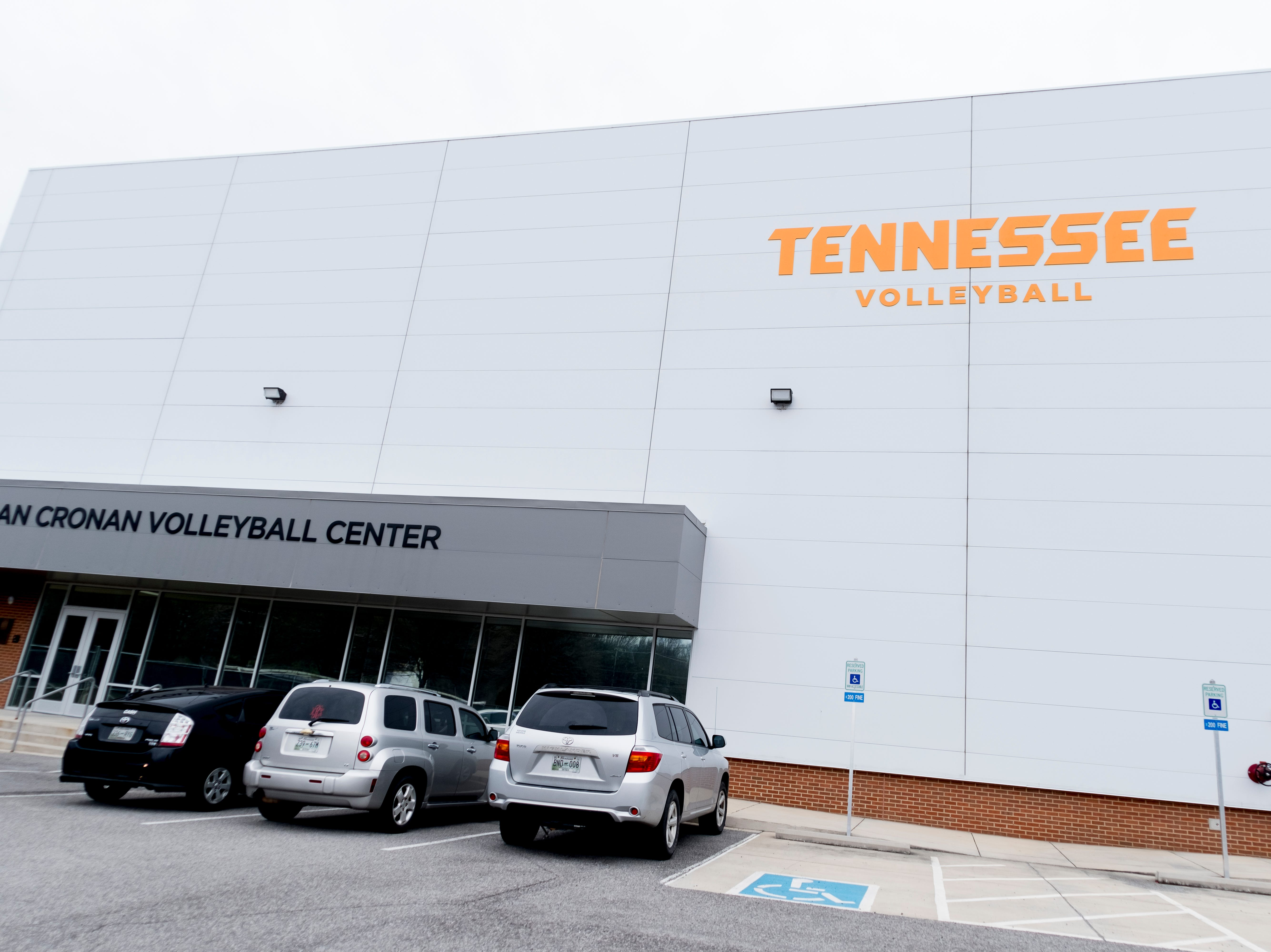 Joan Cronan Volleyball Practice Facility on the University of Tennessee campus in Knoxville, Tennessee on Wednesday, January 2, 2019.