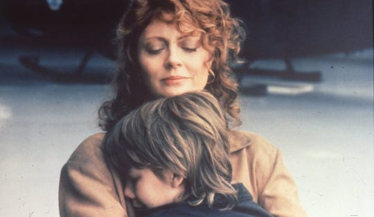 "Brad Renfro and Susan Sarandon in ""The Client."""