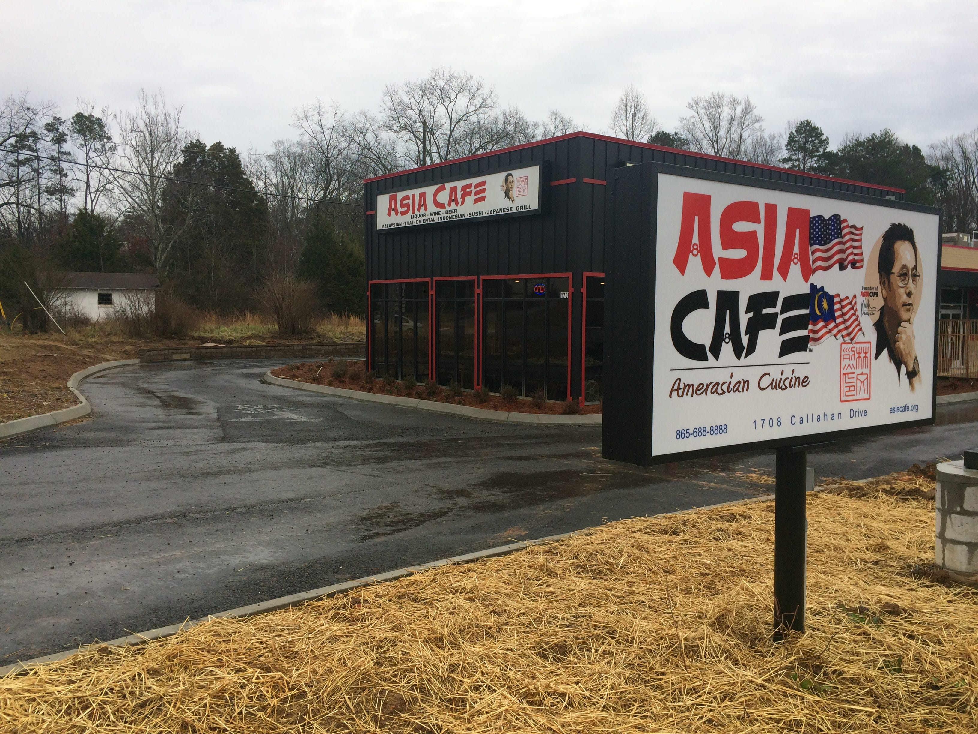 It took more than three years, but the Asia Café has finally moved from Central Avenue to Callahan Road.