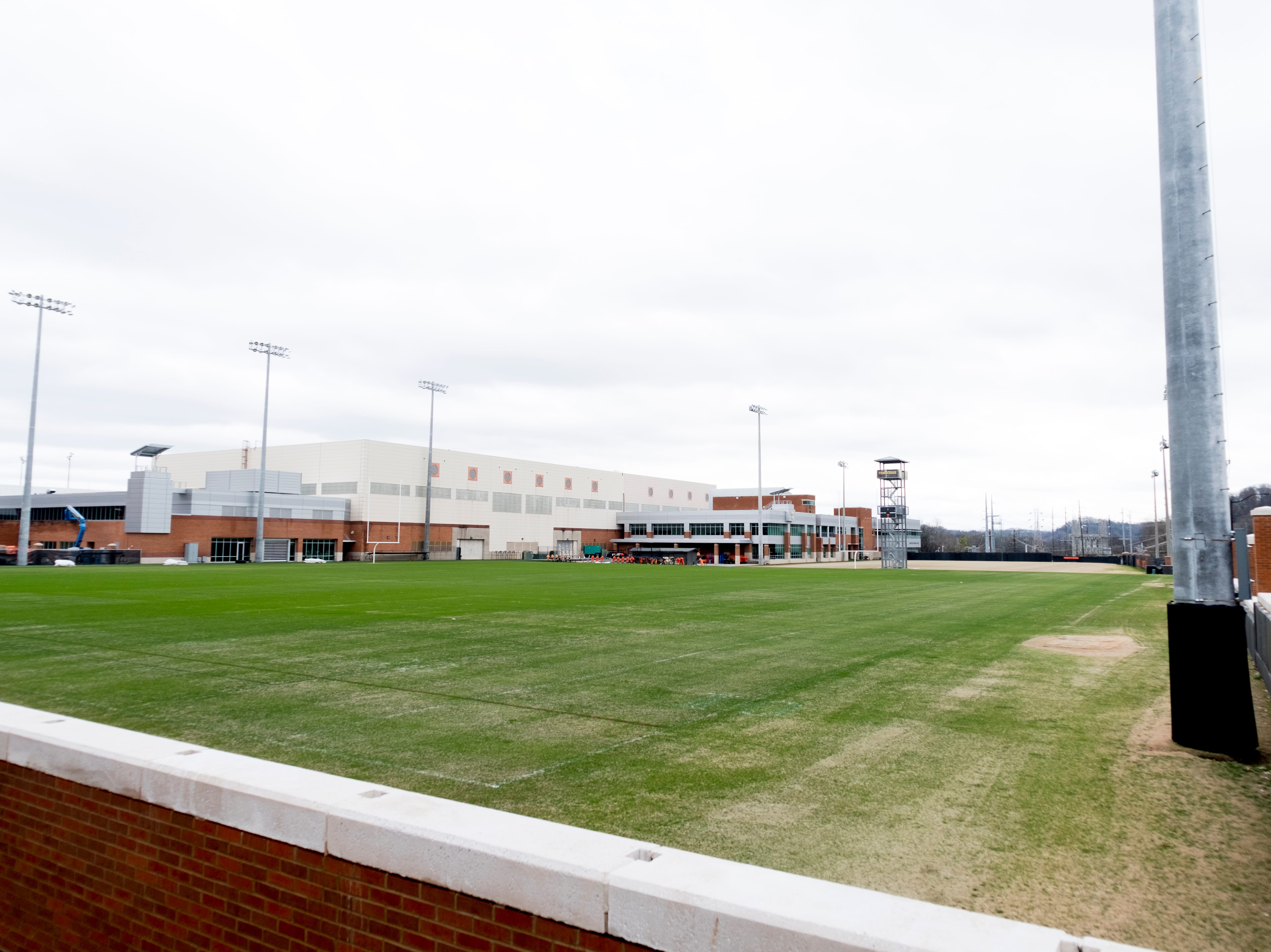 Haslam Field on the University of Tennessee campus in Knoxville, Tennessee on Tuesday, January 1, 2019.