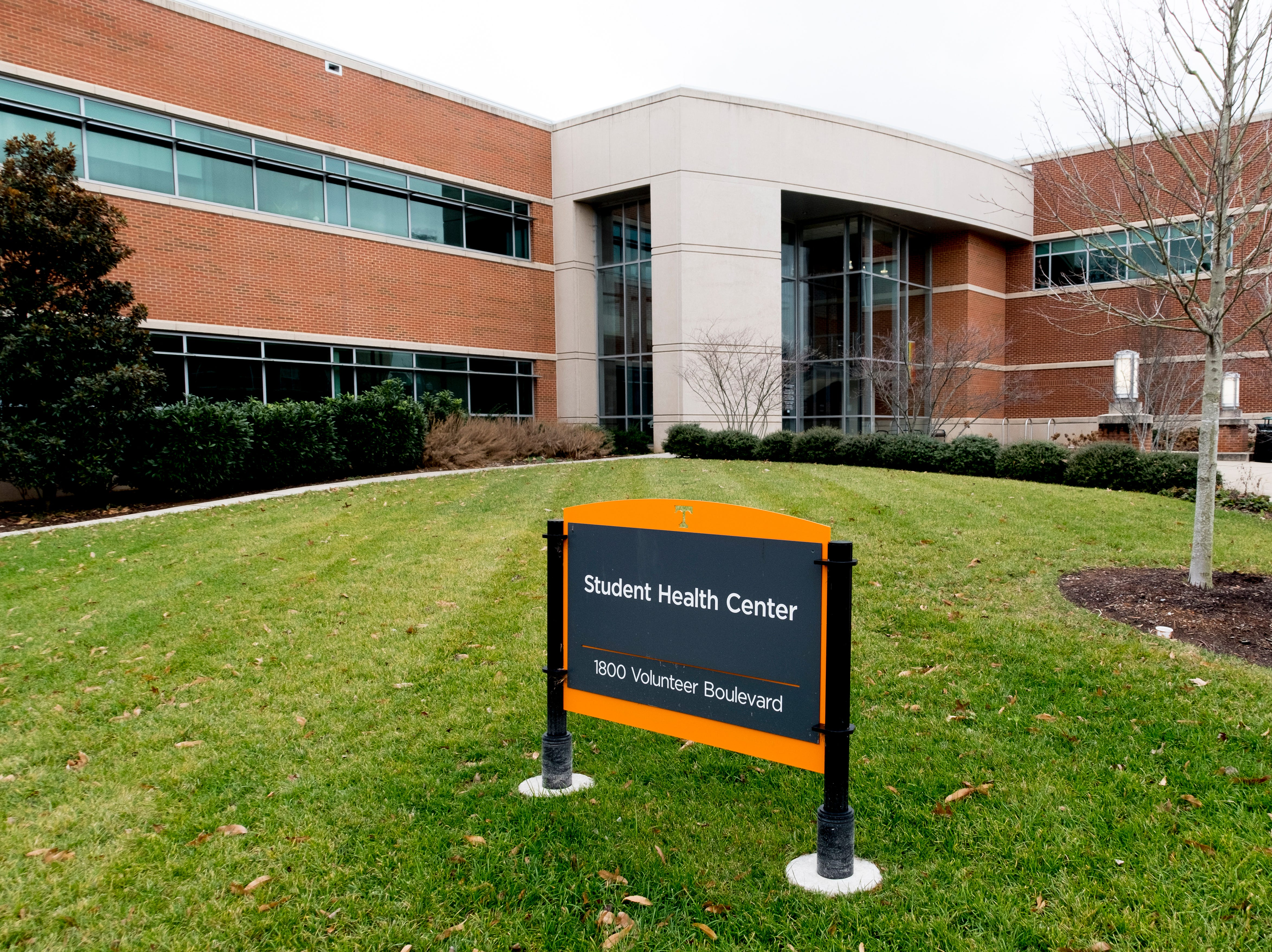 Student Health Center on the University of Tennessee campus in Knoxville, Tennessee on Tuesday, January 1, 2019.