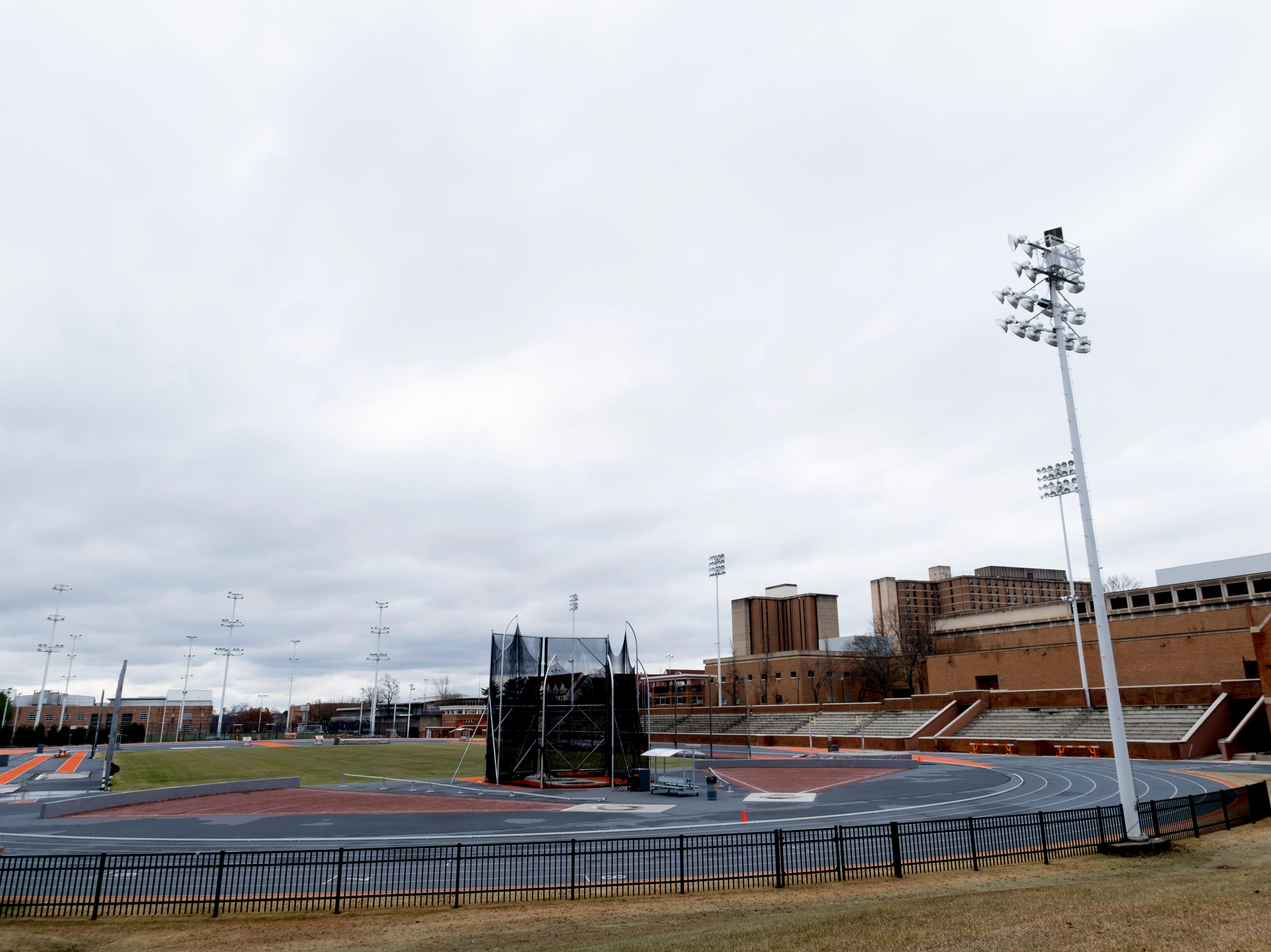Tom Baclm Track at LaPorte Stadium on the University of Tennessee campus in Knoxville, Tennessee on Tuesday, January 1, 2019.