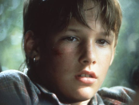 "Brad Renfro in ""The Client"", 1994."