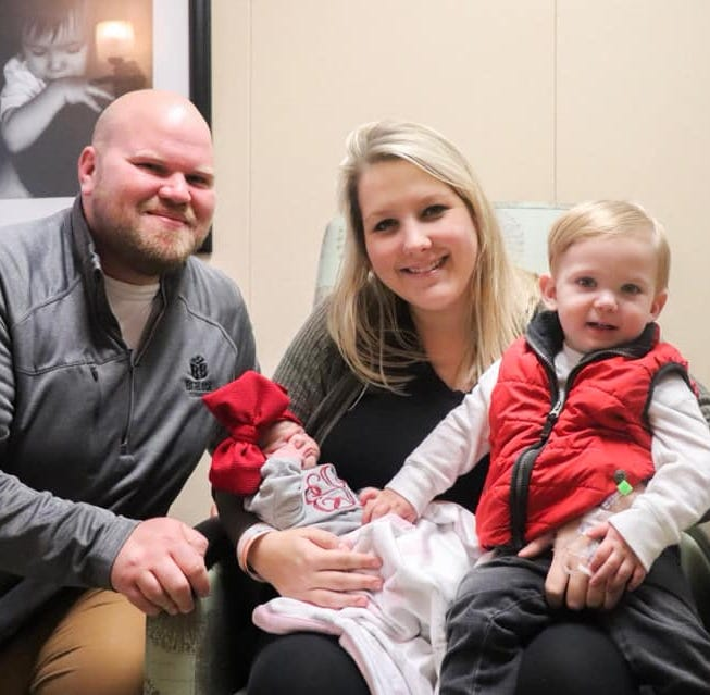 UT Medical Center's 2019 'Baby New Year' resting comfortably at home with mom, family