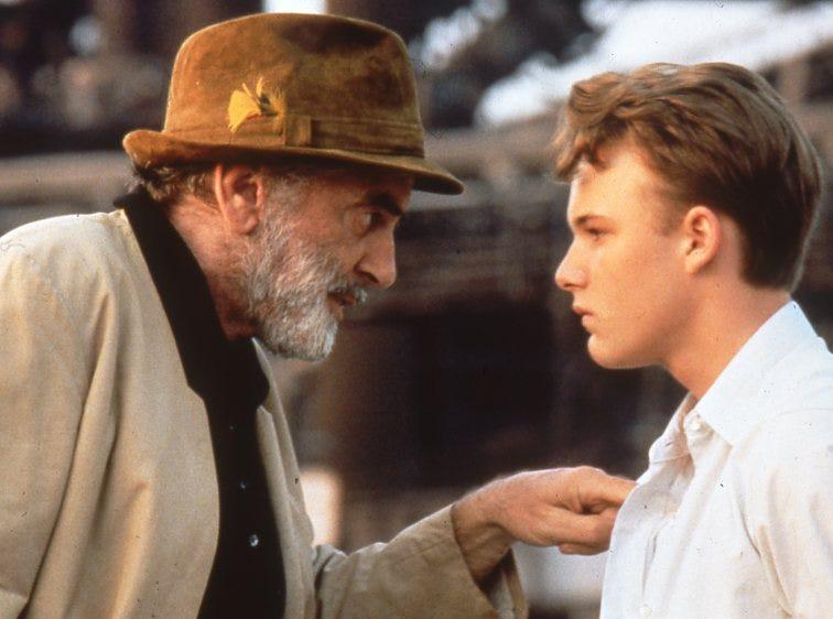 Max School and Brad Renfro, 1997.