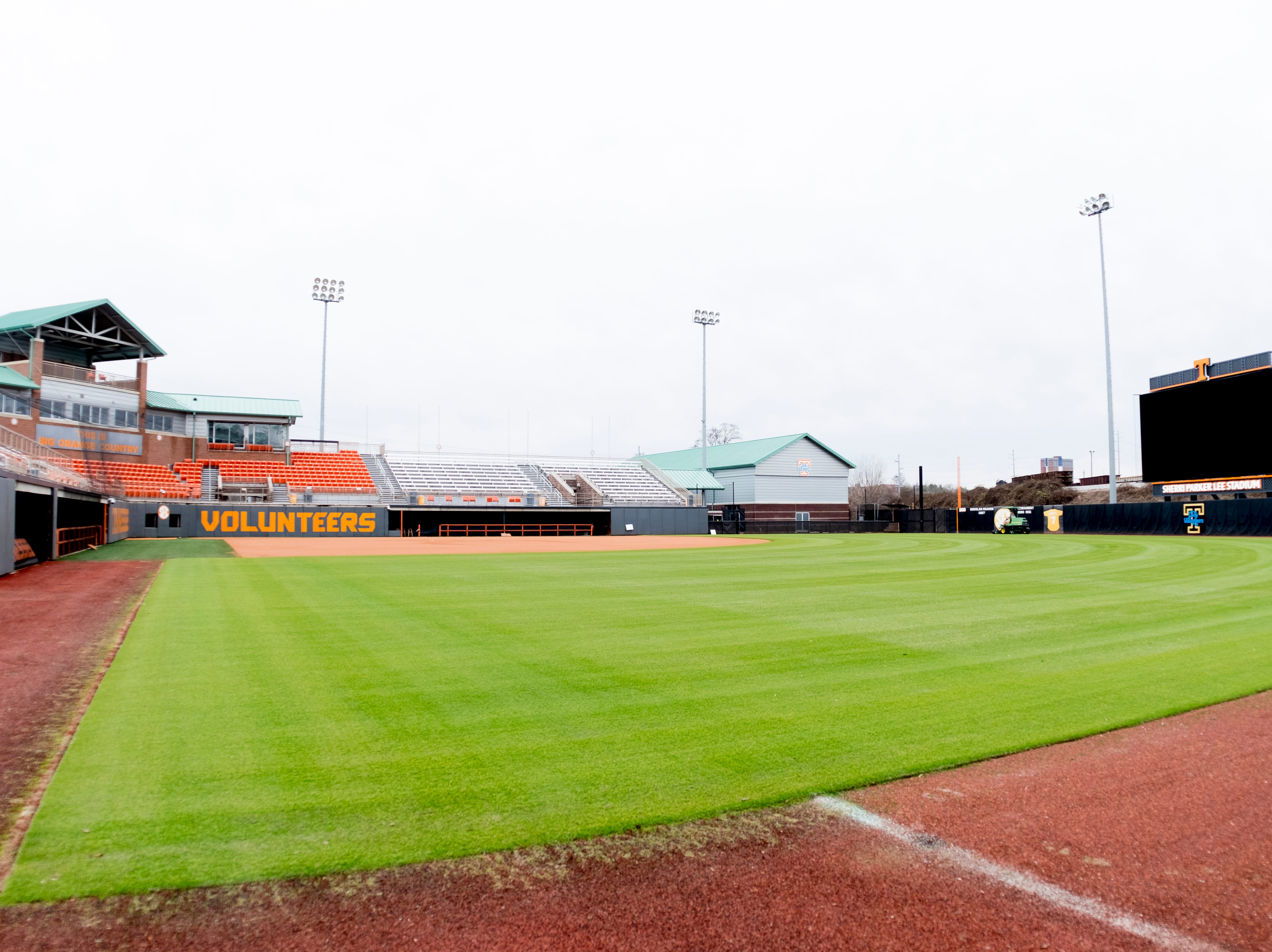 Sherri Parker Lee Stadium on the University of Tennessee campus in Knoxville, Tennessee on Wednesday, January 2, 2019.