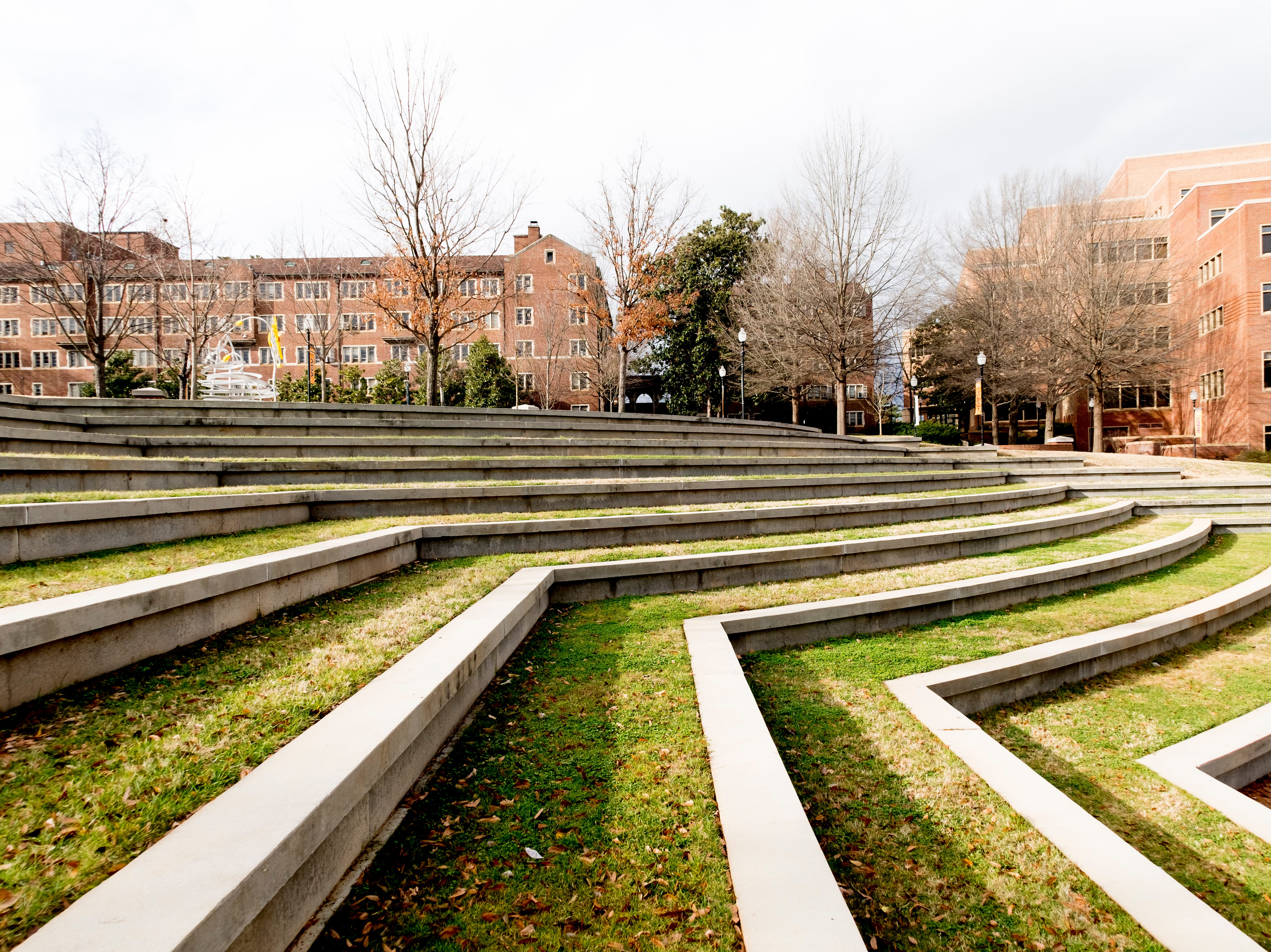 Humanities Amphitheater on the University of Tennessee campus in Knoxville, Tennessee on Tuesday, January 1, 2019.