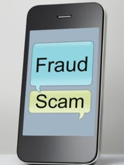 phone scam illustration