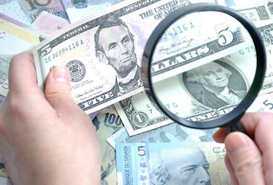 Counterfeit illustration