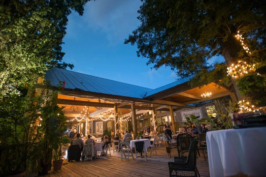 Palmettos on the Bayou restaurant holds beautiful views and delicious fine-dining cuisine
