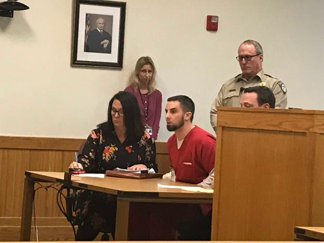 James Witgen was sentenced to at least 10 years in prison by Livingston County Judge Michael Hatty Thursday morning.