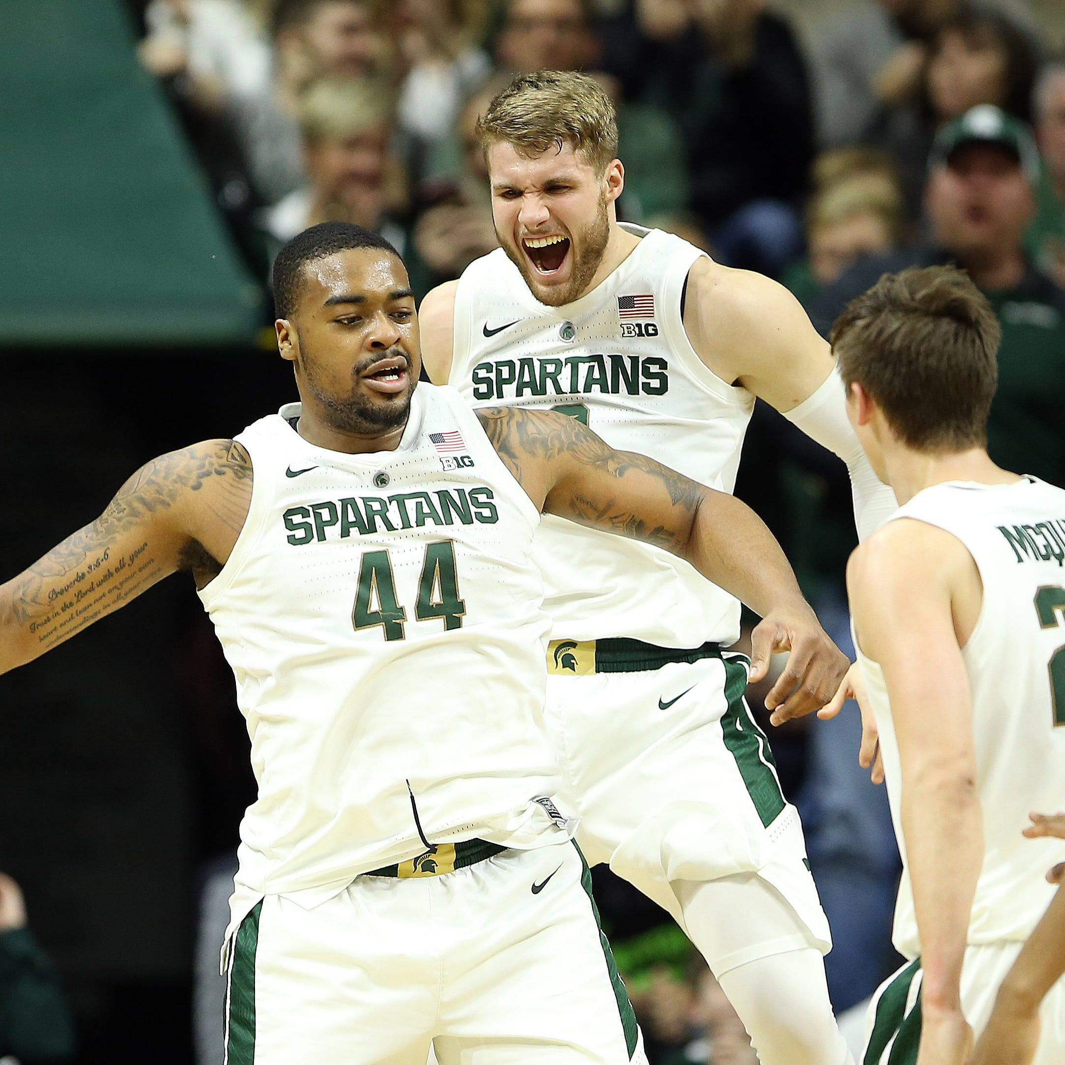 Bracketology: Michigan State near the top, and 10 Big Ten teams projected to make NCAAs