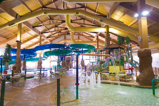 The Tundra Lodge waterpark is in Green Bay.