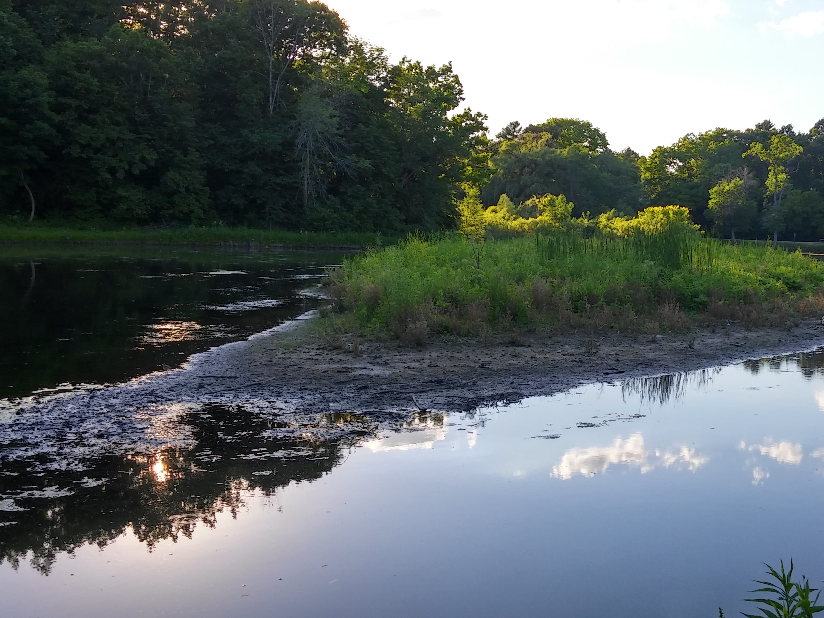Mill Pond in South Milwaukee.