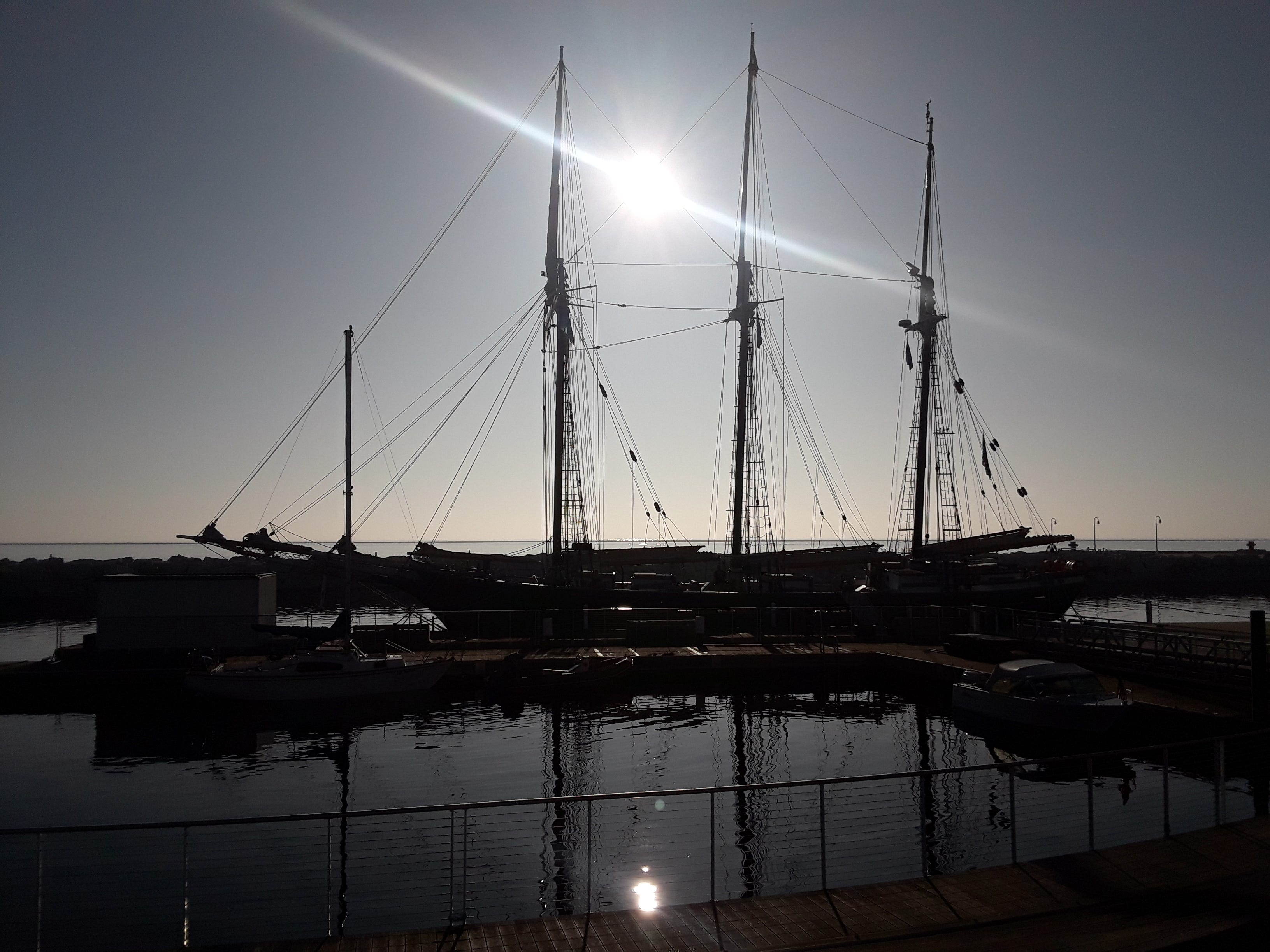 Discovery World, Milwaukee Harbor.
