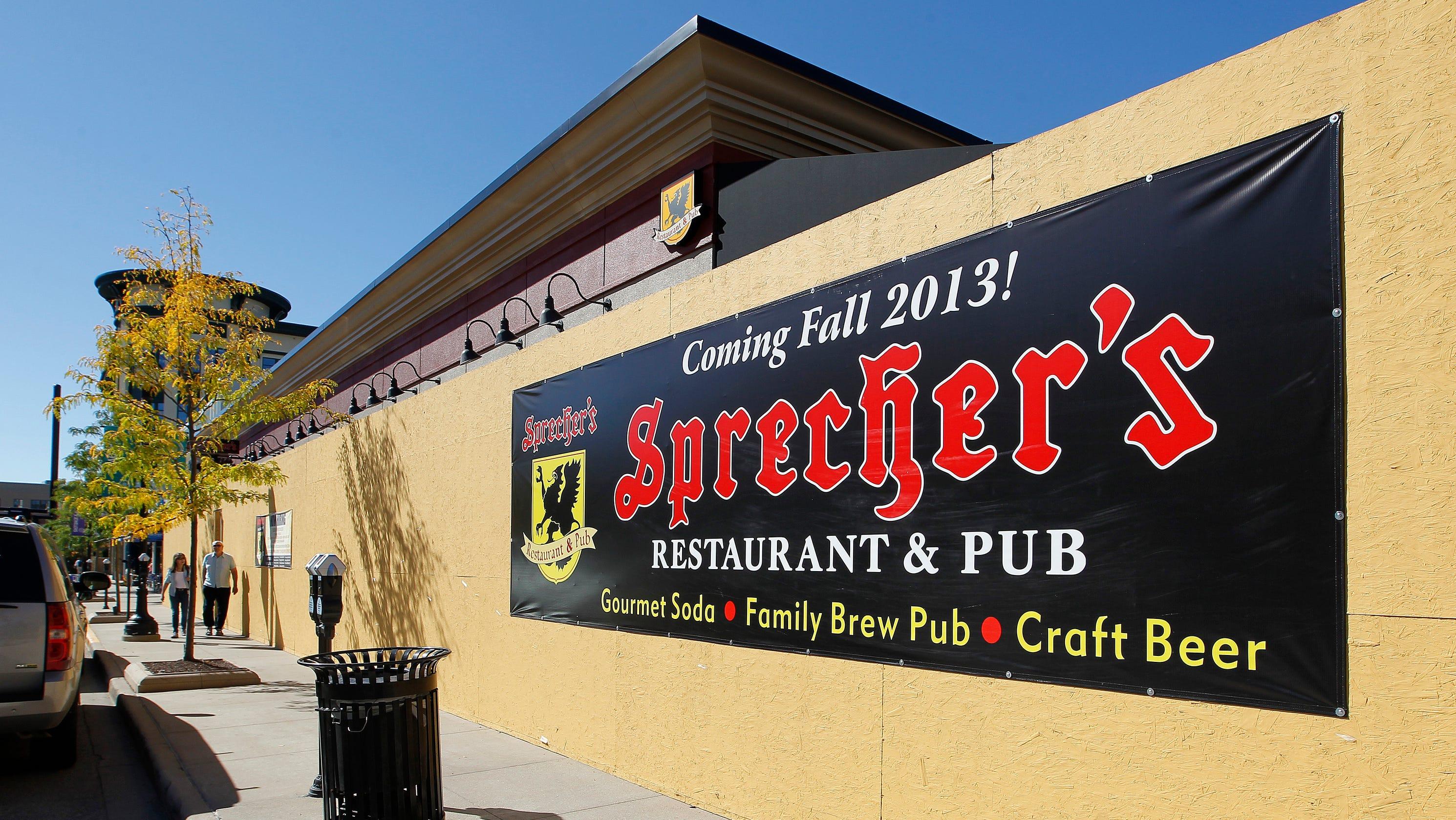 7fec1bf70bf Sprecher s Restaurant   Pub at Bayshore announces it is closing