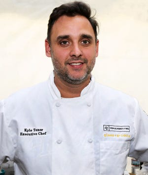 Kyle Toner is executive chef of Glass & Griddle restaurant in the Pabst complex's The 42.