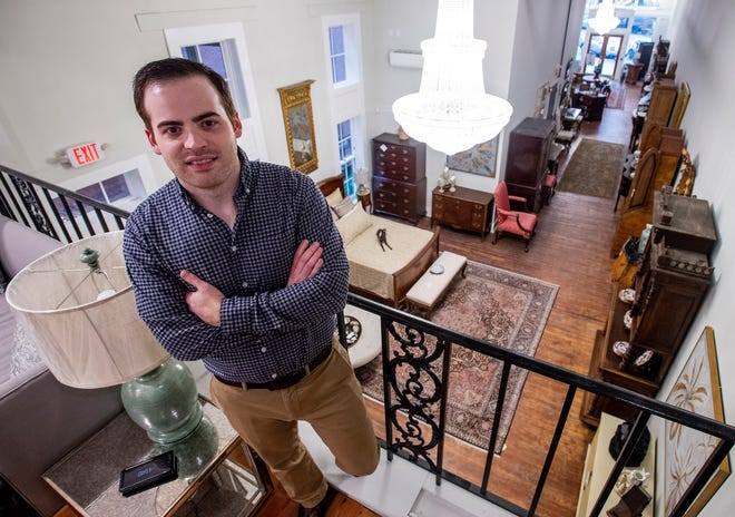 Andrew Thrash is the general manager for both Montgomery Antiques & Interiors locations in Montgomery.
